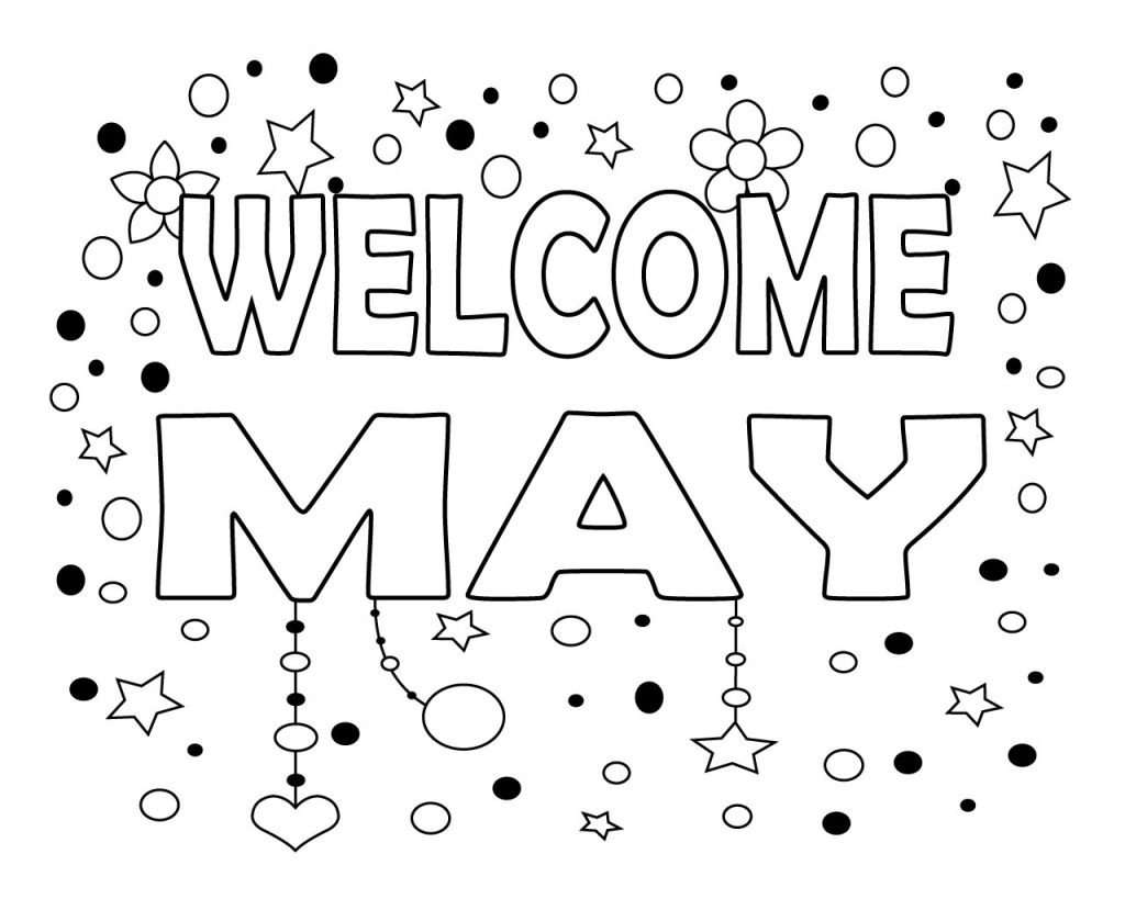 May Coloring Pages Printable