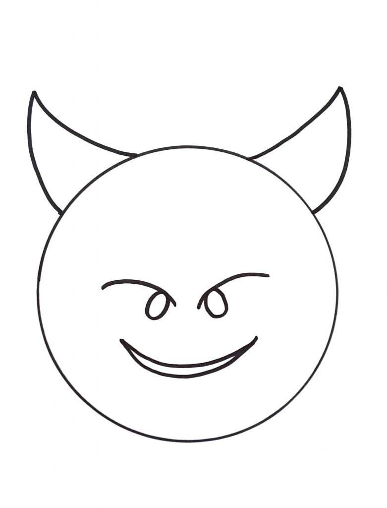 - Free Printable Emoji Coloring Pages For Kids, Heart And Eye, Cool