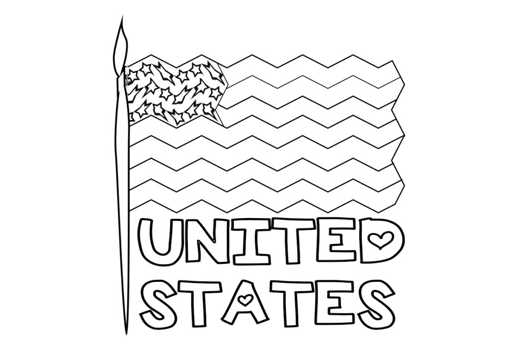 US Map Coloring Pages - Best Coloring Pages For Kids | 683x1024