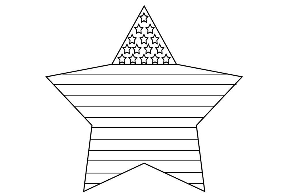 american flag coloring page for first grade - american flag coloring pages free printable