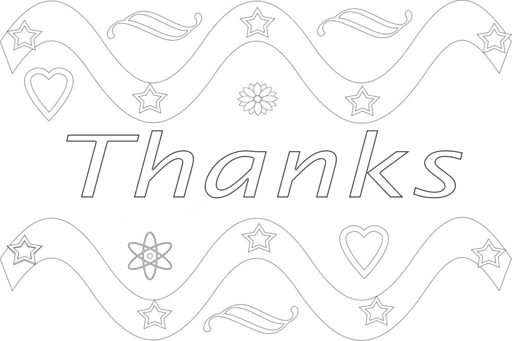 - Free Printable Coloring Pages For Kids And Adults: Printable Thank You  Coloring Pages