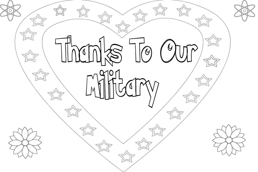 thank you troops coloring pages - free thank you coloring pages printable