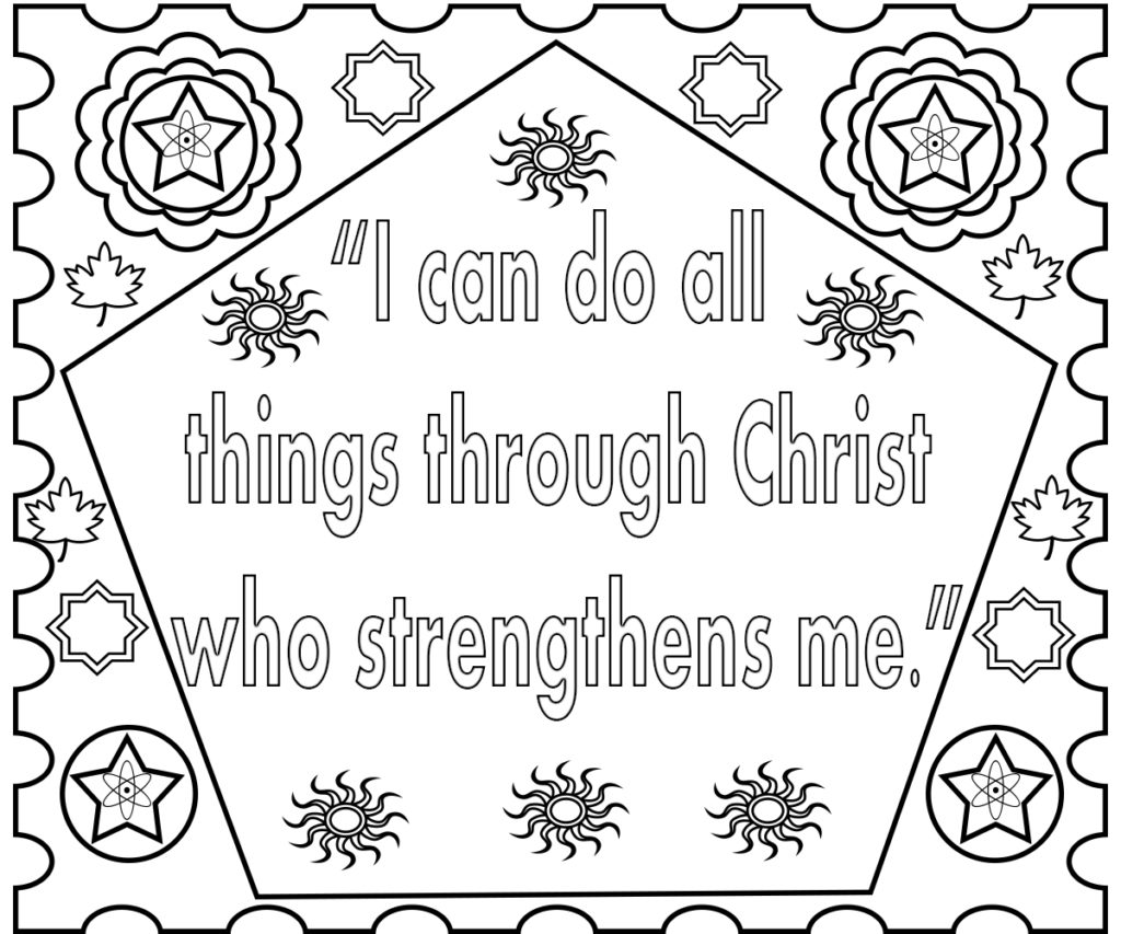 Bible verse coloring pages for Preschool bible coloring pages free