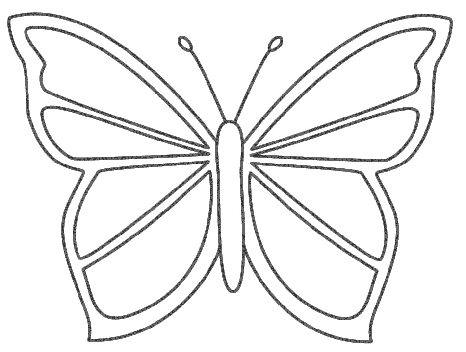 butterfly coloring page - Google Search | Butterfly coloring page ... | 719x950
