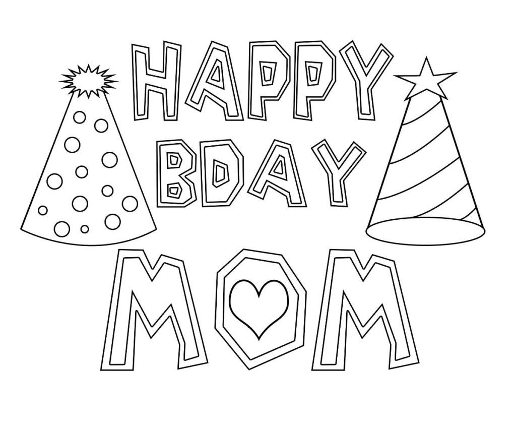 birthday online coloring pages - photo#41