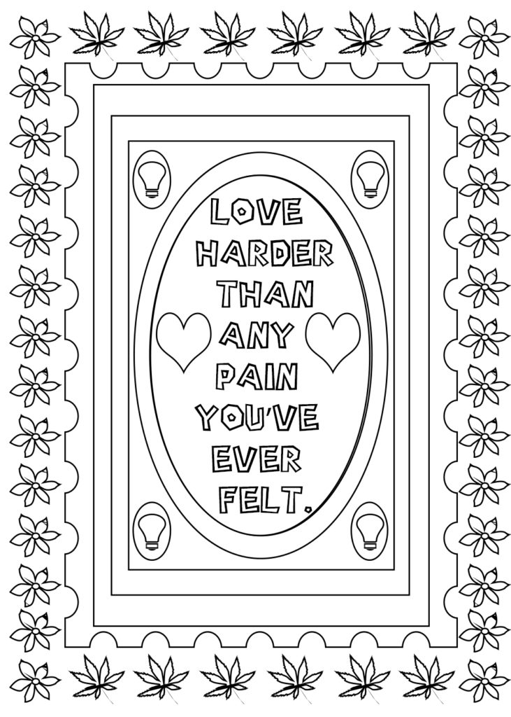 love quotes coloring pages