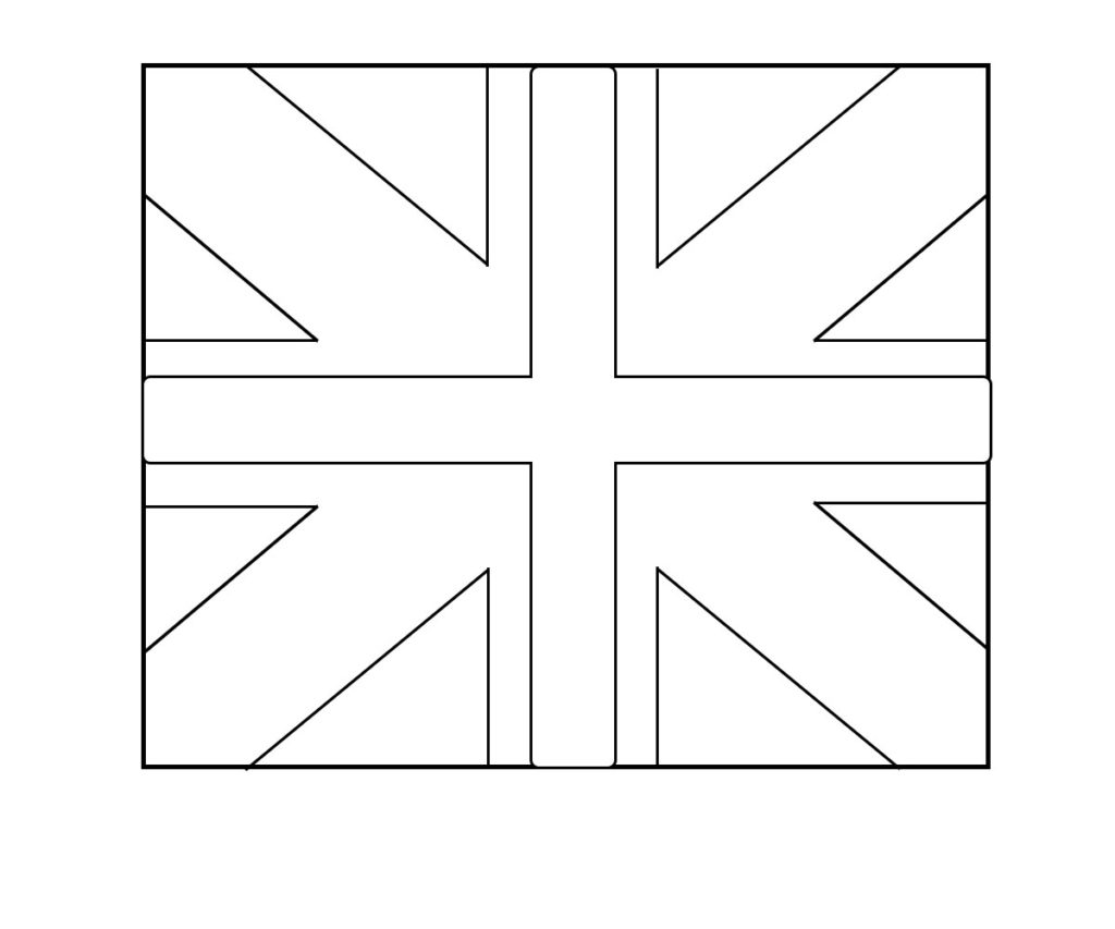 photograph about Printable England Flag named Printable england coloring webpages