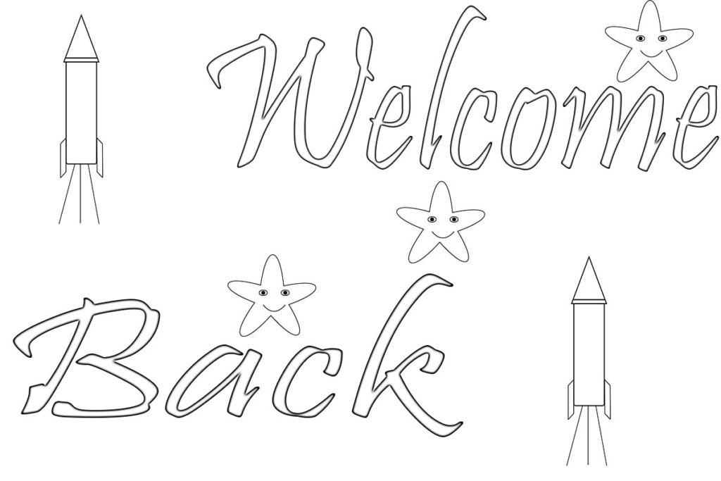 welcome coloring pages to print and download