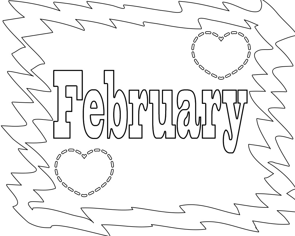 february coloring pages printables | Free Printable February Coloring Pages Free Printable ...