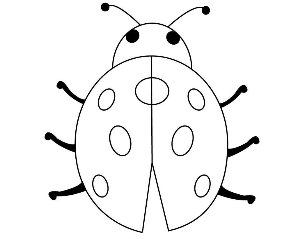 Ladybug Coloring Pages for Preschoolers Ladybug Coloring Pages for ...