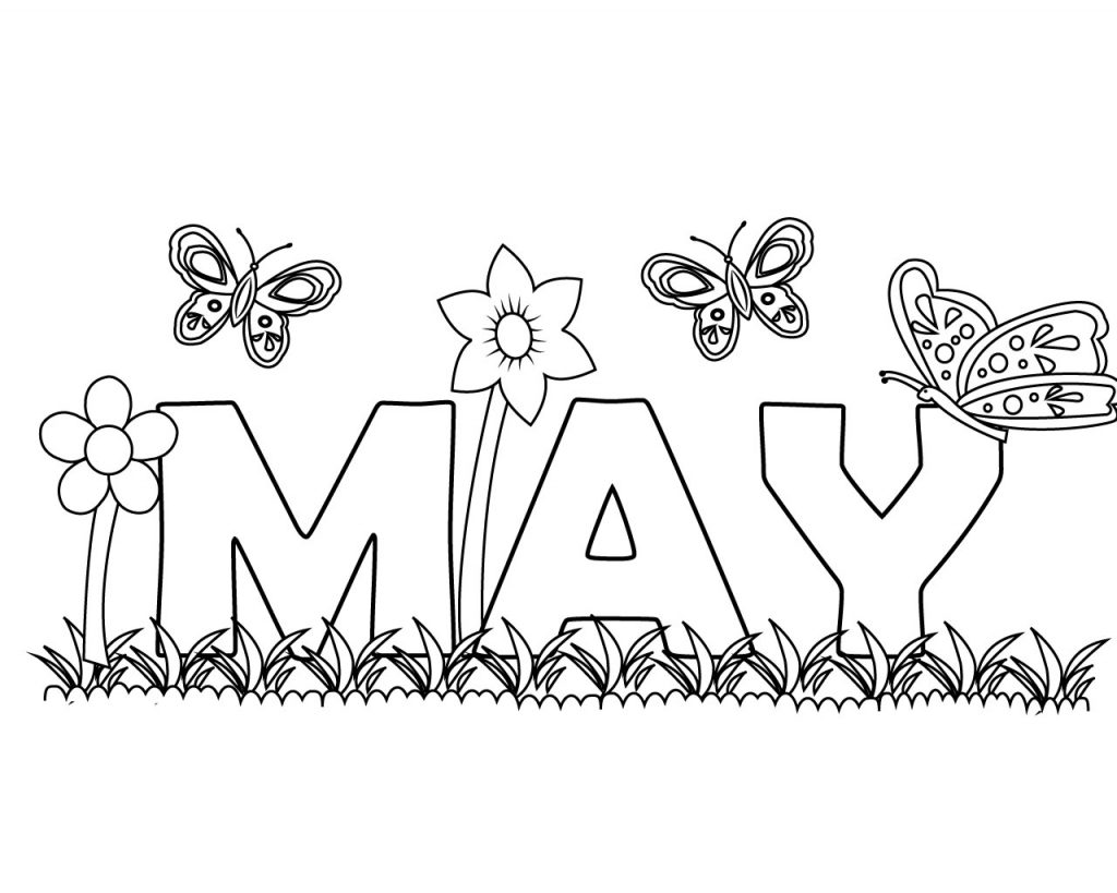 May coloring pages printable bltidm for May coloring pages printable