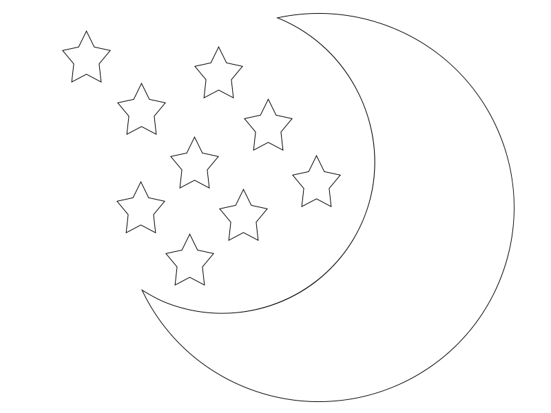 coloring pages goodnight moon - photo#13