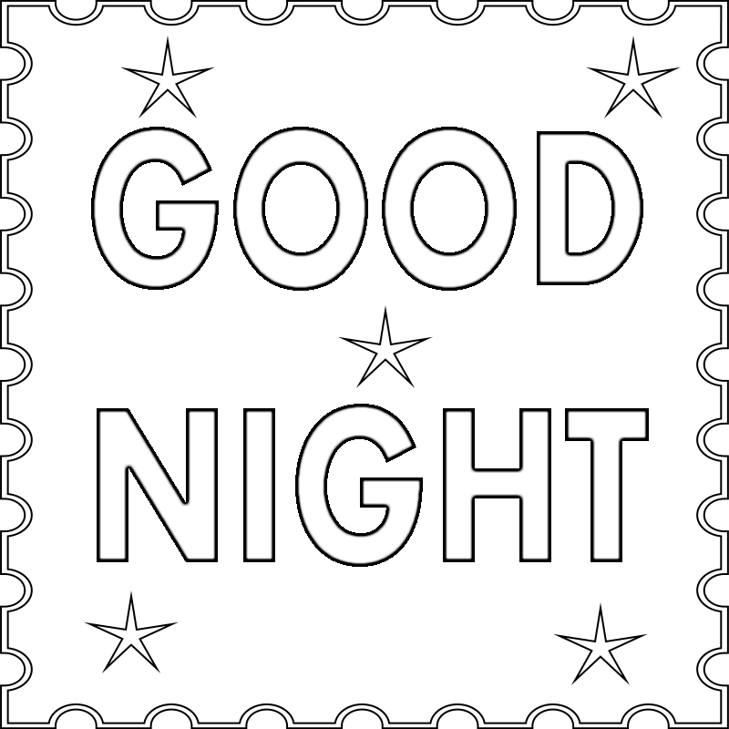 coloring pages goodnight moon - photo#26