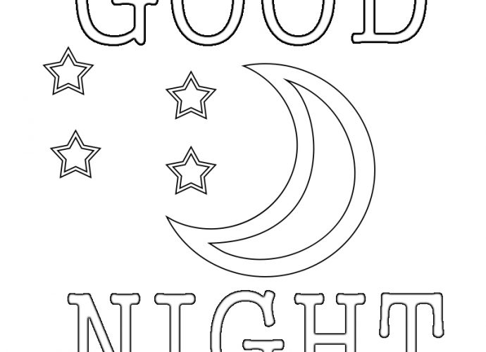 coloring pages goodnight moon - photo#7