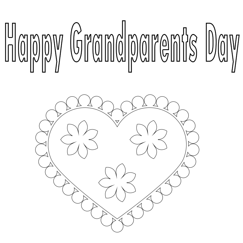 Grandparents Day Coloring Pages Preschool,Printable,to Print