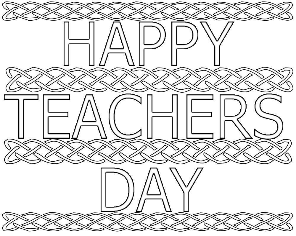 Teacher Appreciation Coloring Pages Free Teacher Appreciation ...