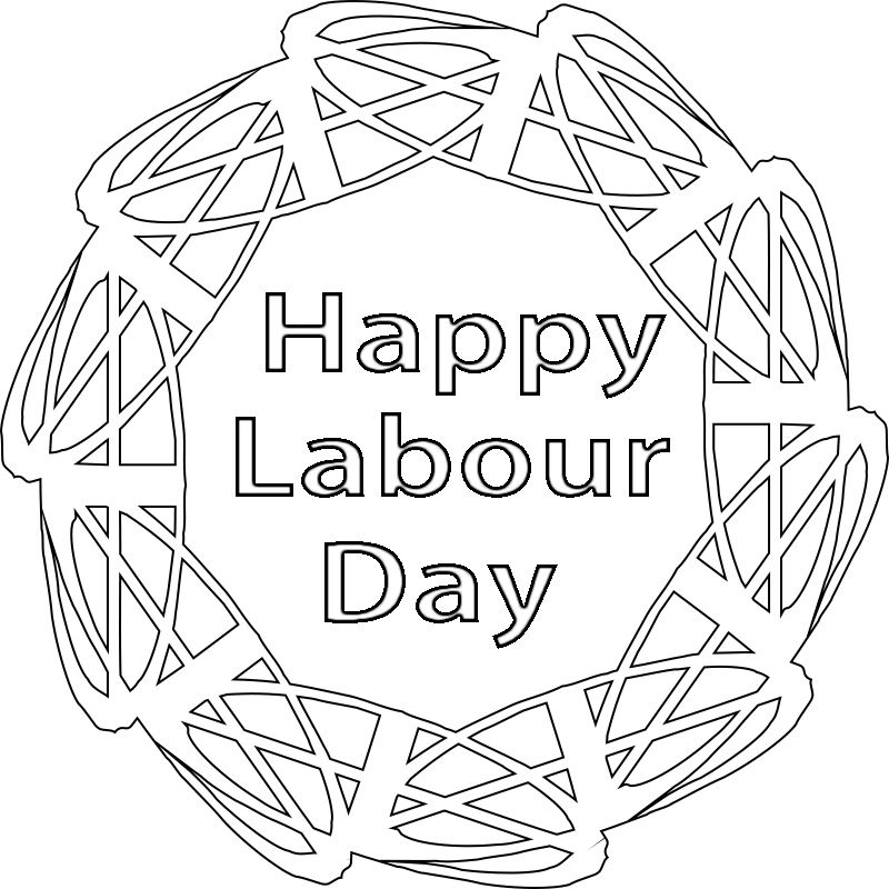 Labor Day Coloring Pages for Adults,free Printable,Preschool ...