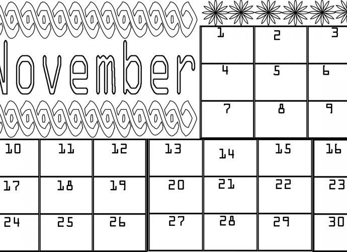 November-Calendar-Coloring-Pages