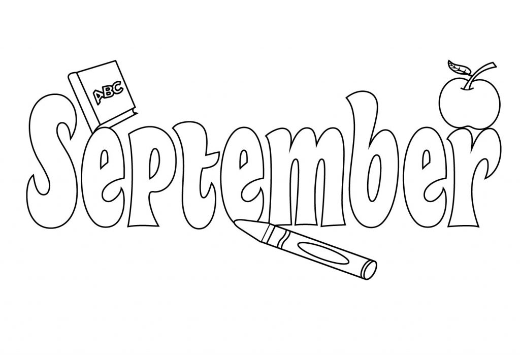 september printable coloring pages - photo#37