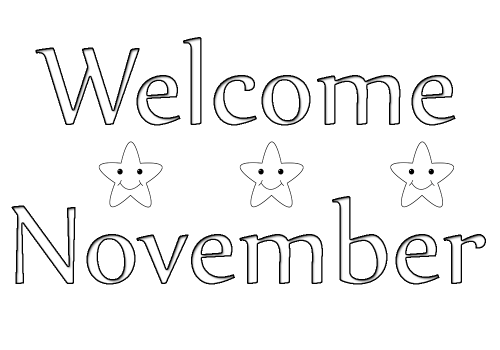 Welcome-November-Coloring-Pages