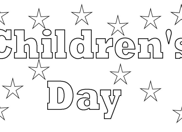Children's Day Coloring Pages