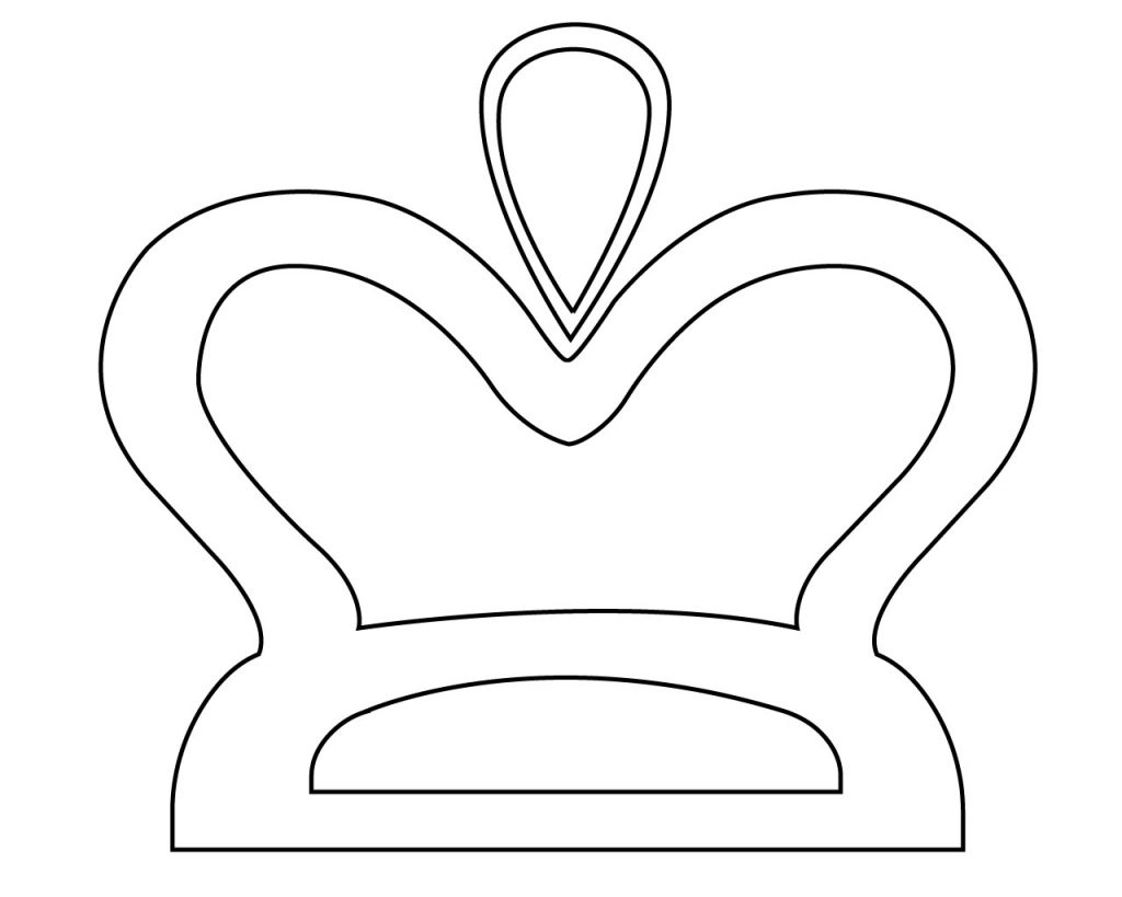 Birthday Crown Coloring Pages