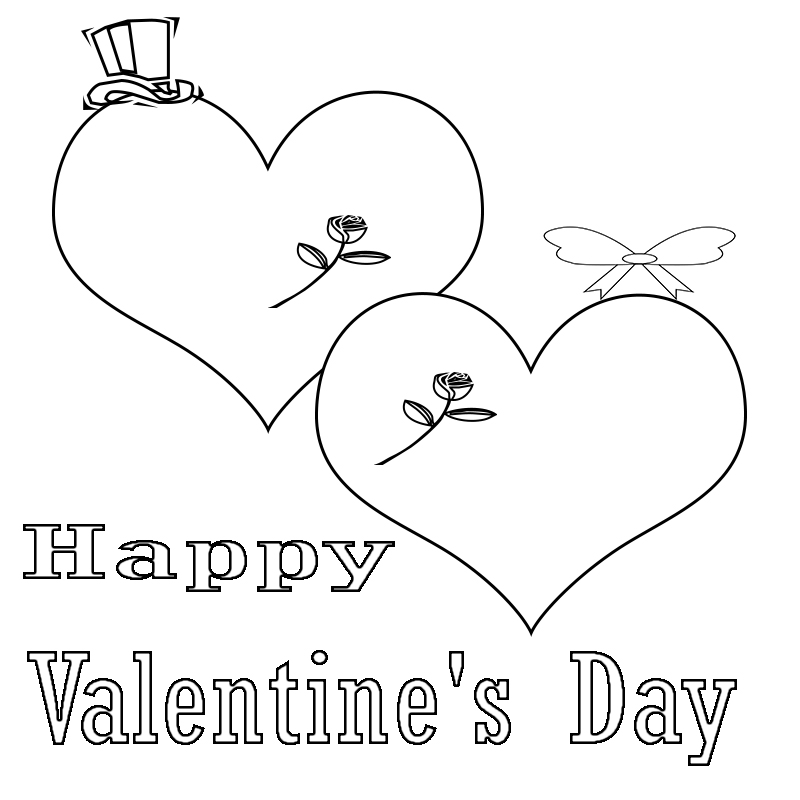 Cute Printable Valentine's Day Coloring Pages