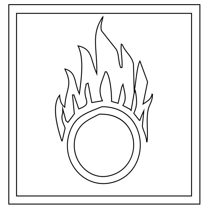 Flame Coloring Pages Printable