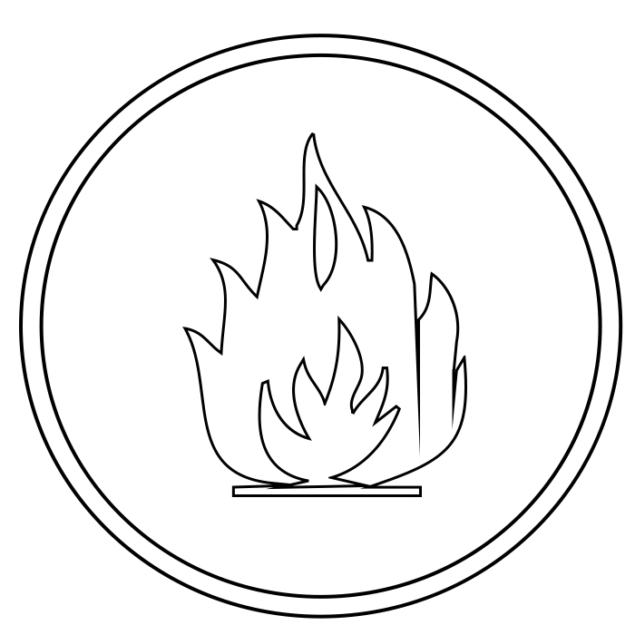 Free Printable Flame Coloring Pages