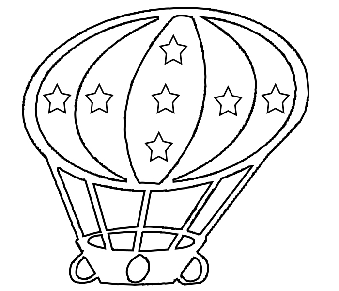 Coloring Pages Balloons - Coloring Home | 600x700