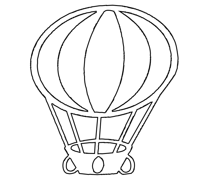 picture relating to Hot Air Balloon Coloring Pages Free Printable identified as Very hot Air Balloon Coloring Site Totally free Printable,Older people, towards Print