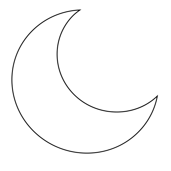 Best Moon Coloring Pages to Print,Adults,kindergarten ...