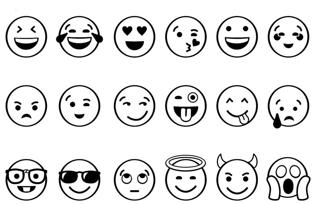graphic relating to Emoji Coloring Pages Printable identified as Cost-free Printable Emoji Coloring Internet pages For Youngsters, Middle and Eye