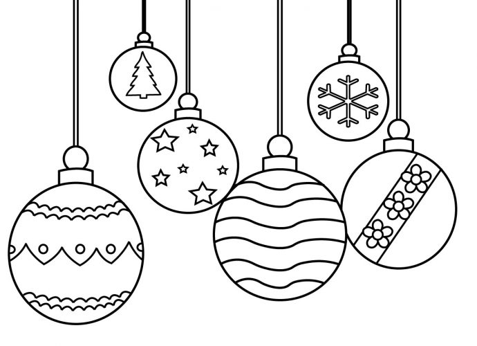 picture relating to Christmas Ornaments Coloring Pages Printable referred to as Free of charge Coloring Web pages For Small children and Older people