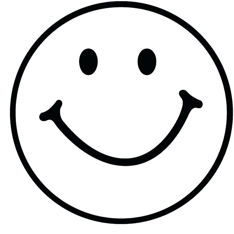 Smiley Emojis Coloring Pages