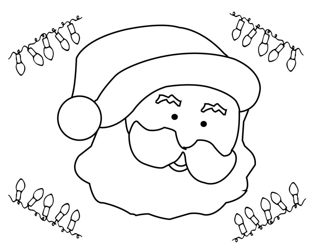 Xmas Coloring Pages Free
