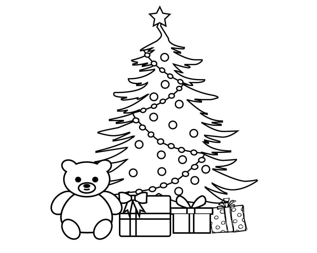 Xmas Coloring Pages Print