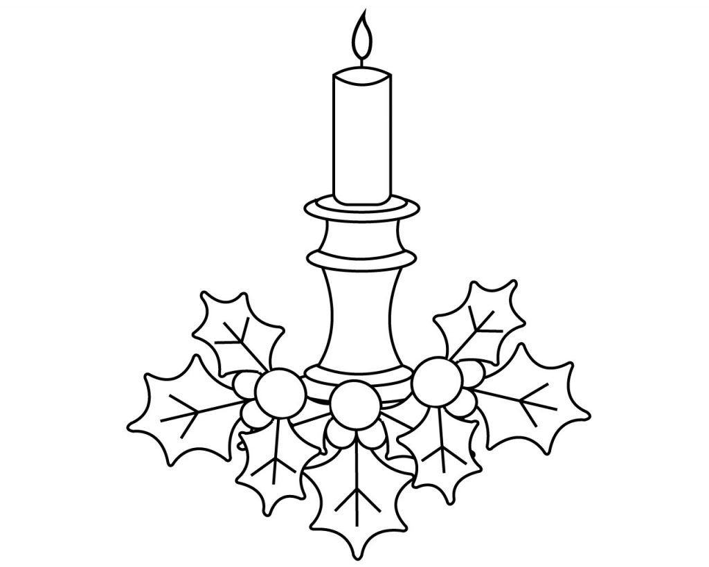 Xmas Coloring Pages for Kids