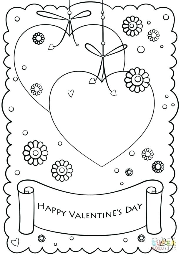 - 763 Valentine's Day Cards, Sheets, Coloring Pages