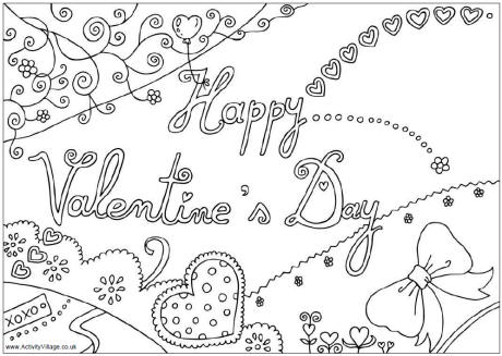 763 Valentine's Day Cards, Sheets, Coloring Pages