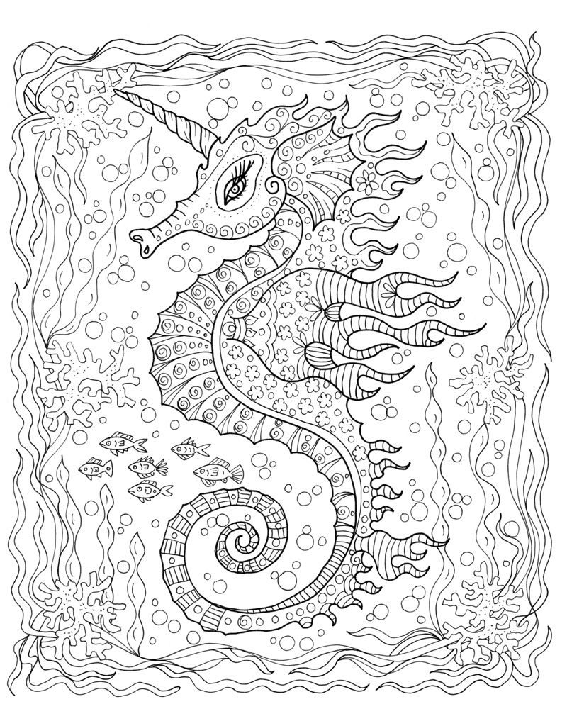 Easy Animal Mandala Coloring Pages