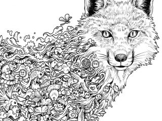 Simple Animal Mandala Coloring Pages