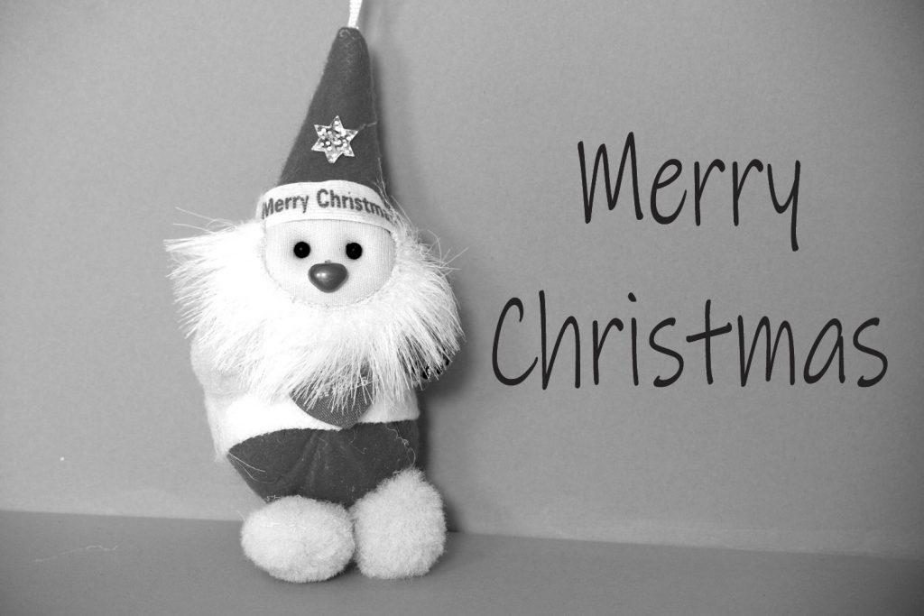 Santa-Images-black-and-whot