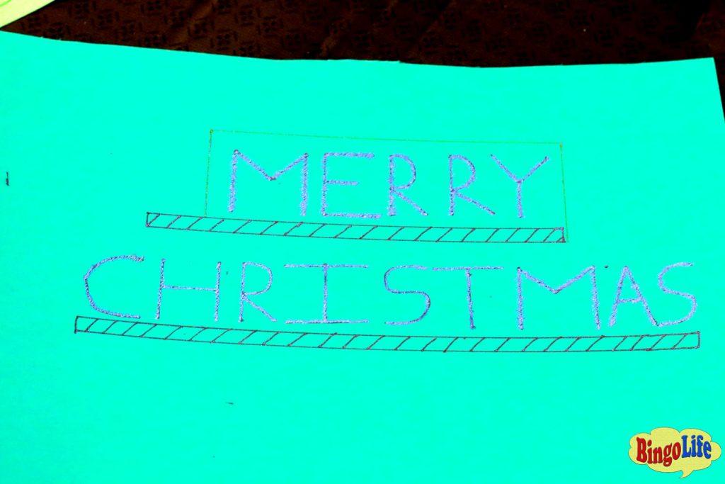 diy Christmas cards kids