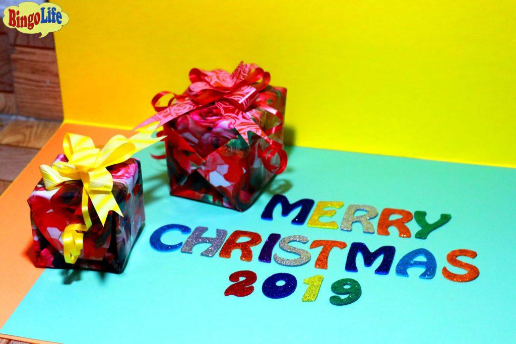 elegant homemade Christmas cards
