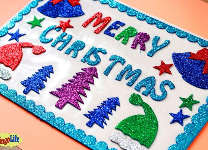 handmade Christmas greeting cards